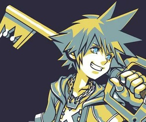 sora, kingdom hearts, and wallpaper image