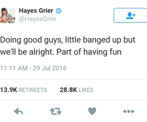 dirt bike, hayes grier, and magcon image