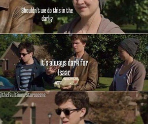 the fault in our stars, tfios, and funny image