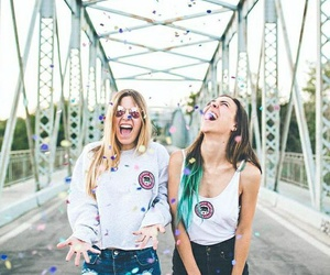 friendship, girls, and bff image