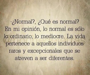 frases, normal, and vida image