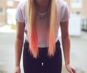 beauty, blond, and it image