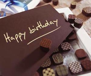 chocolate, happy birthday, and birthday image