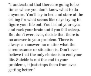 suicide and quotes image