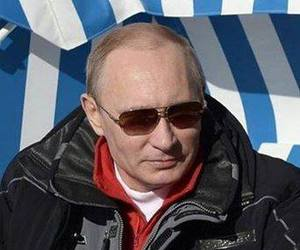 vladimir putin, rusia today, and wine cup image
