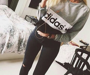 adidas, sexy, and ass image
