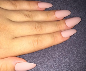 classy, long nails, and love image