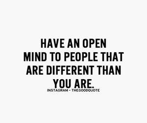 difference, open minded, and different image