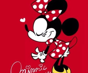 disney, minnie, and minnie mouse image