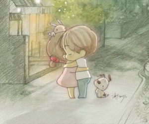 love, cute, and couple image
