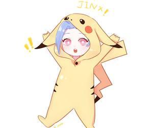 kawaii, jinx, and pikachu image