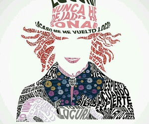 alicia, locura, and sombrerero image