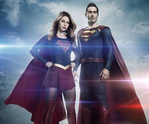 Supergirl, arrowverse, and superman image