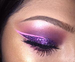 eyes and purple image