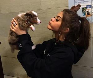 girl, sahar luna, and dog image