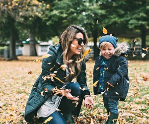 autumn and mom image