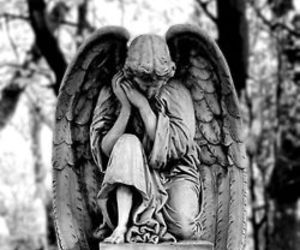 angel, guardian, and statue image