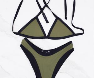 bikini, fashion, and moda image