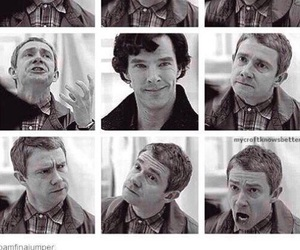 sherlock, funny, and Martin Freeman image