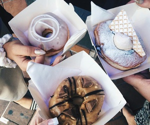 desserts, cokkie, and chocolate image