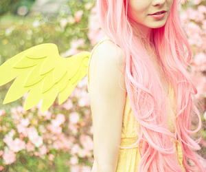 my little pony, fluttershy, and cosplay image