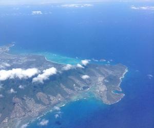 Island, maui, and plane image
