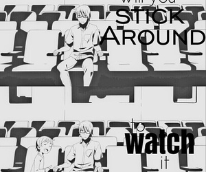 anime, black and white, and edit image
