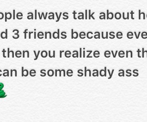 shady, fake friends, and fuck fake bitches image