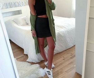 adidas, chic, and ootd image
