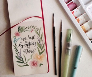 calligraphy, quotes, and saturdays image