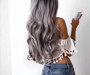 hair, iphone, and tumblr image