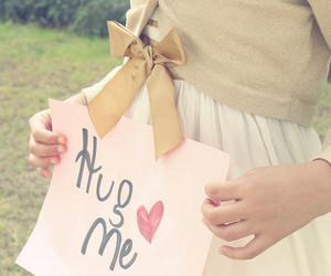 hug, hug me, and heart image