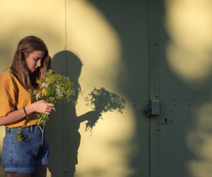 tumblr, flowers, and girl image