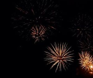 fireworks, gatsby, and universe image