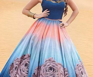 party wear gown image