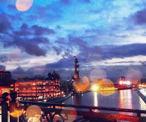 bridge, city, and colors image