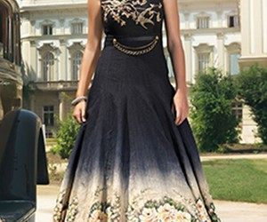 gown online and cocktail party gown image