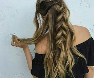 braids, goals, and ombre image