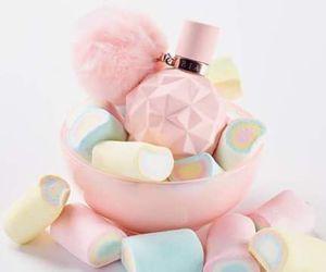 ariana grande, pink, and pastel image