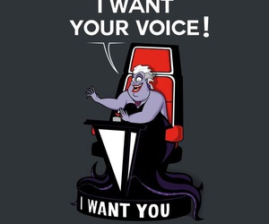 disney, the voice, and ursula image