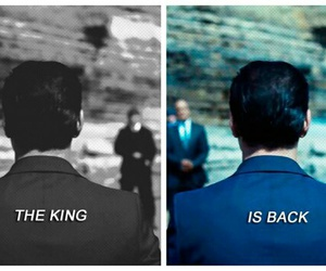 holmes, sherlock, and the king image