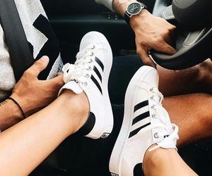 adidas and couple image