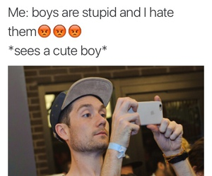 bastille, boys, and funny image