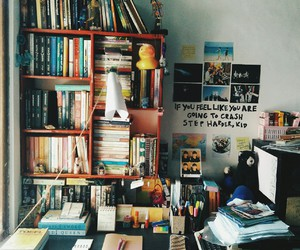 college, bedroom, and decor image