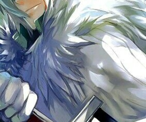 allen walker, anime, and d gray man image