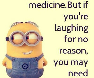 minions, funny, and medicine image