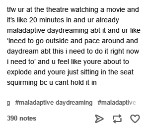 actually, brain, and daydreaming image