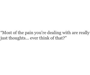 quotes, thoughts, and pain image