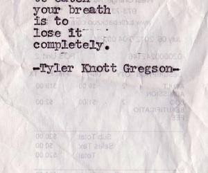 quote, breath, and lose image