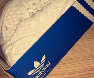 flux, adidas, and white image